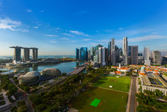 Singapore city skyline. Architecture and travel background Stock Image