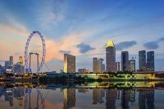 Singapore cityscape Stock Photography