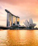 Singapore city skyline. Royalty Free Stock Photography