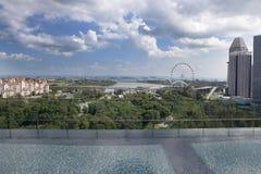 Singapore City Skyline Stock Image