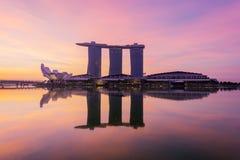 Singapore city skyline Royalty Free Stock Photo
