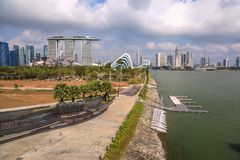 Singapore city skyline Royalty Free Stock Photography