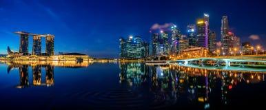 Singapore city stock photography
