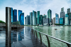 Singapore City Viewpoint Stock Photography