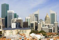 Singapore cityscape Stock Images