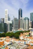 Singapore cityscape Royalty Free Stock Image