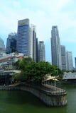 Singapore cityscape Royaltyfri Bild