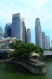 Singapore cityscape. Cityscape of singapore cbd, around singapore river Royalty Free Stock Image