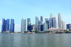 Singapore cityscape. Cityscape of singapore cbd, around singapore river and marina bay Stock Images
