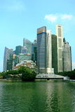 Singapore cityscape. Cityscape of singapore cbd, around singapore river and marina bay Stock Photo