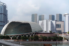 Singapore Cityscape Central Business District Royalty Free Stock Photography