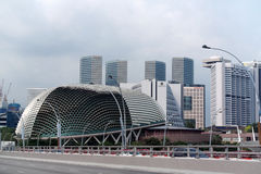 Singapore Cityscape Central Business District Stock Photography