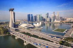 Singapore cityscape Stock Photo