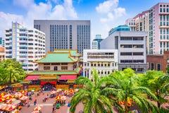 Singapore cityscape Stock Image