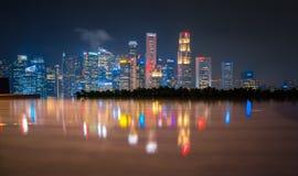 Singapore cityscape royalty free stock images