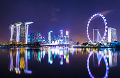 Singapore cityscape royalty free stock photo