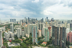 Singapore Cityscape Royalty Free Stock Photos