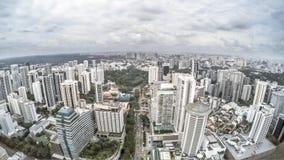 Singapore Cityscape stock video footage