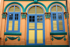 Singapore - colonial architecture Royalty Free Stock Image