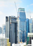 Singapore construction Royalty Free Stock Photos