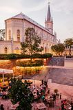 Singapore Convent of the Holy Infant Jesus Chapel in Chijmes din royalty free stock photos