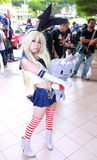 Singapore: Cosplay Cosfest XIII 2014 royalty free stock photo