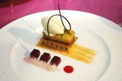 Singapore cuisine. Artistic dessert from singapore cuisine stock images