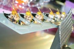 Singapore cuisine Stock Images
