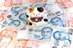 Singapore Currency Stock Photography