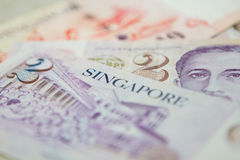 Singapore currency Royalty Free Stock Images