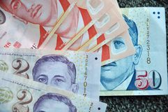 Singapore currency Stock Photo