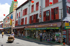 O Chinatown de Singapore Foto de Stock