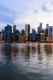 Singapore de stad in Stock Afbeeldingen