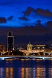 Singapore de stad in Stock Fotografie