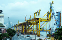 Keppel Terminal Stock Photo