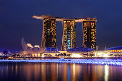 Marina Bay Sand, Singapore Stock Images