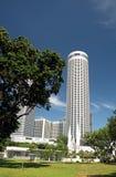 Singapore-December 2015.Raffles City, Swissotel The Stamford Stock Images
