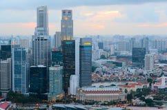 Singapore del centro Fotografia Stock