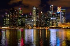 Singapore del centro Fotografie Stock Libere da Diritti
