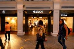 Singapore: Deposito del mango Fotografia Stock