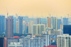 Singapore development Royalty Free Stock Image
