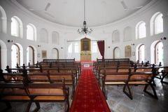 SINGAPORE - 31 DICEMBRE 2013: Dalla navata laterale concentrare dell'armeno C Fotografie Stock