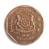 Singapore dollar. Royalty Free Stock Images