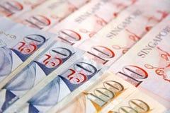 Singapore dollar arkivbild