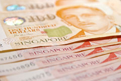 Singapore dollar Arkivfoto