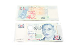 Singapore dollar Royalty Free Stock Photos