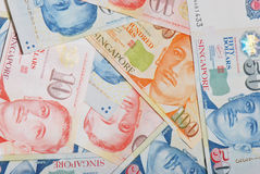Singapore Dollars Royalty Free Stock Photo