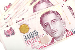 Singapore Dollars. Stock Images