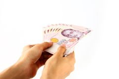 Singapore Dollars. Royalty Free Stock Image