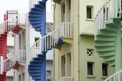 singapore domowi sklepowi schody Fotografia Stock